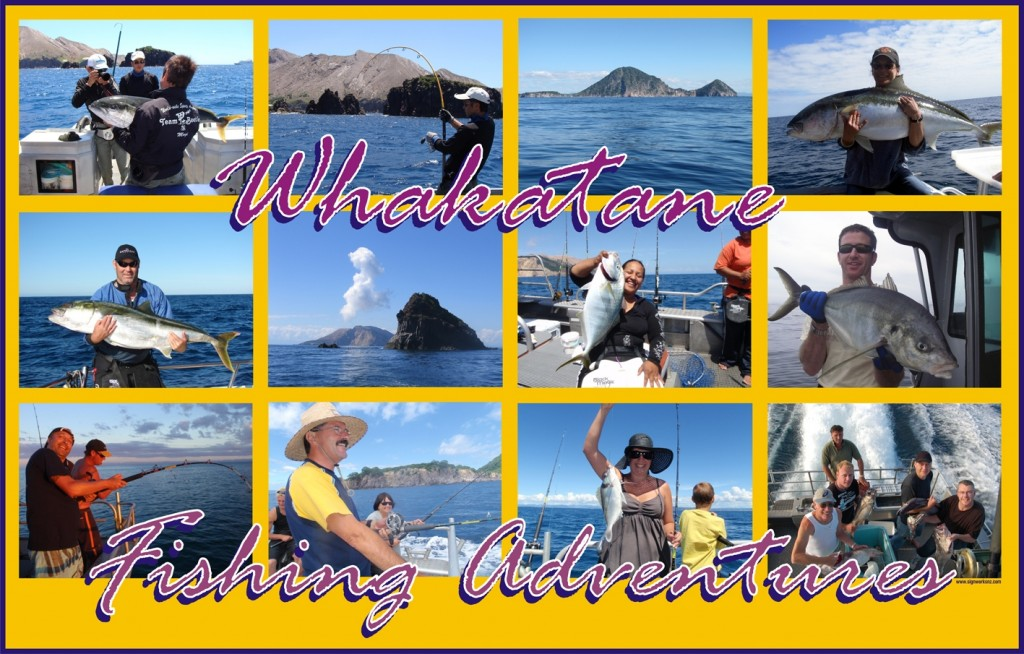 Diveworks Charters for fishing in New Zealand