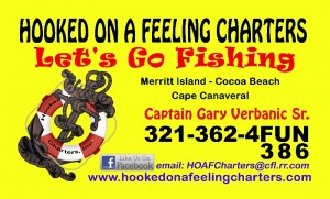 Hooked On A Feeling Charters