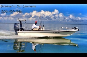 Draggin' It Out Charters, Inshore Light Tackle Sightfishing